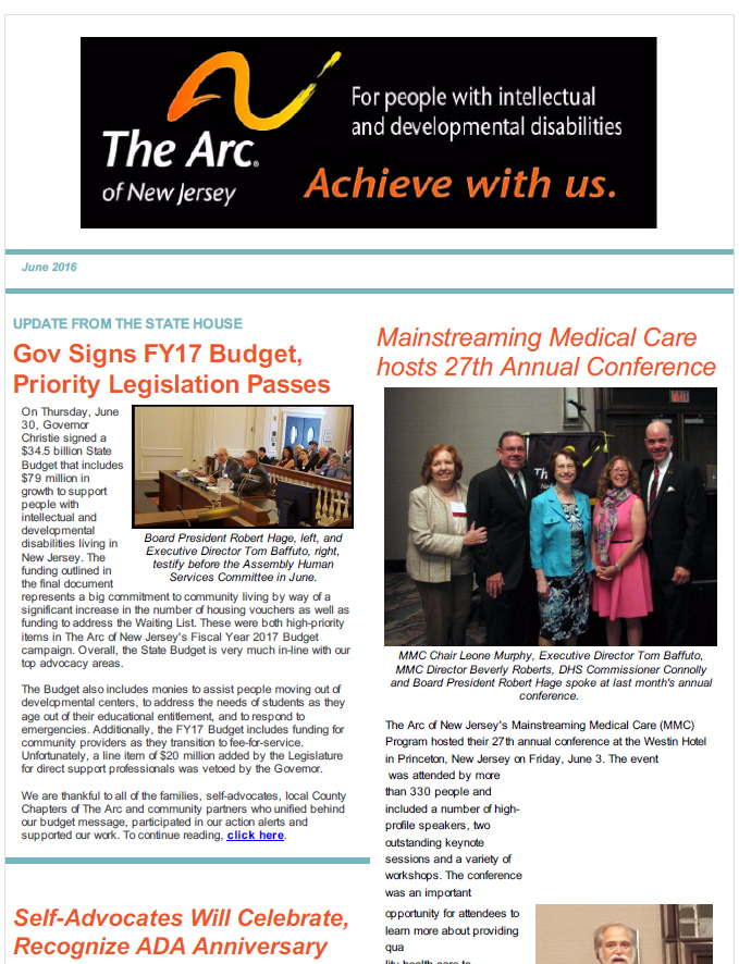 July E-Newsletter