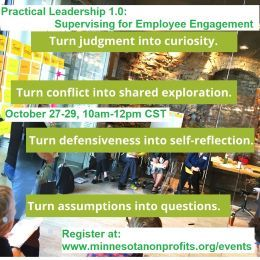 Practical Leadership 1.0: Supervising for Employee Engagement