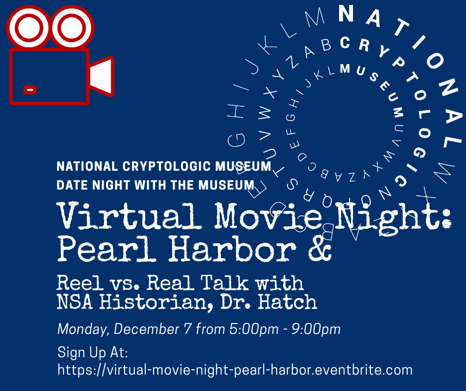 NCM Virtual Movie Night & Reel to Real Talk with Dr. David Hatch