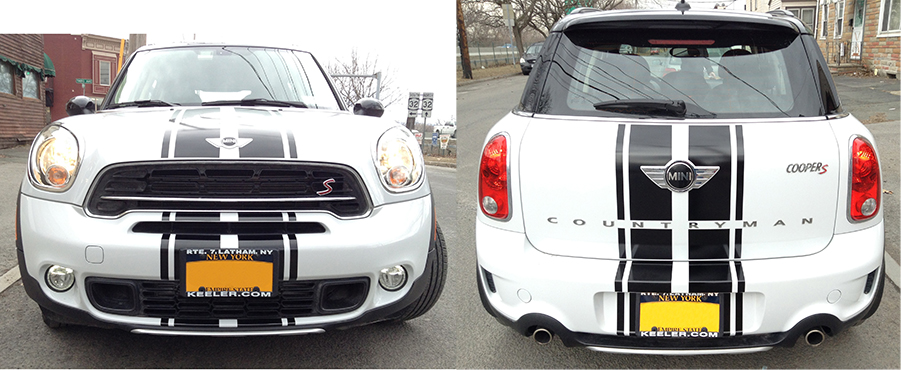 2015 MINI Countryman S Custom Stripes