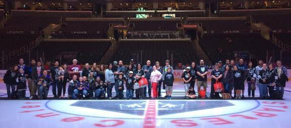 World Down Syndrome Day with L.A. Kings