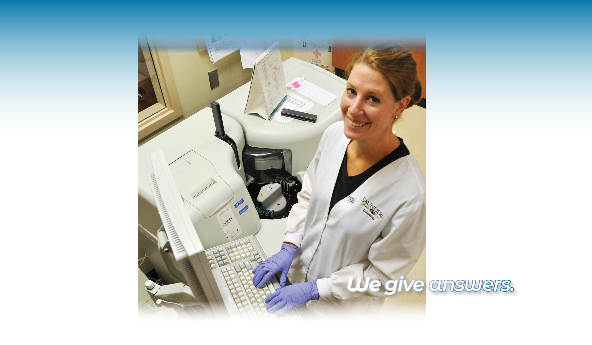 Need confidential lab work?