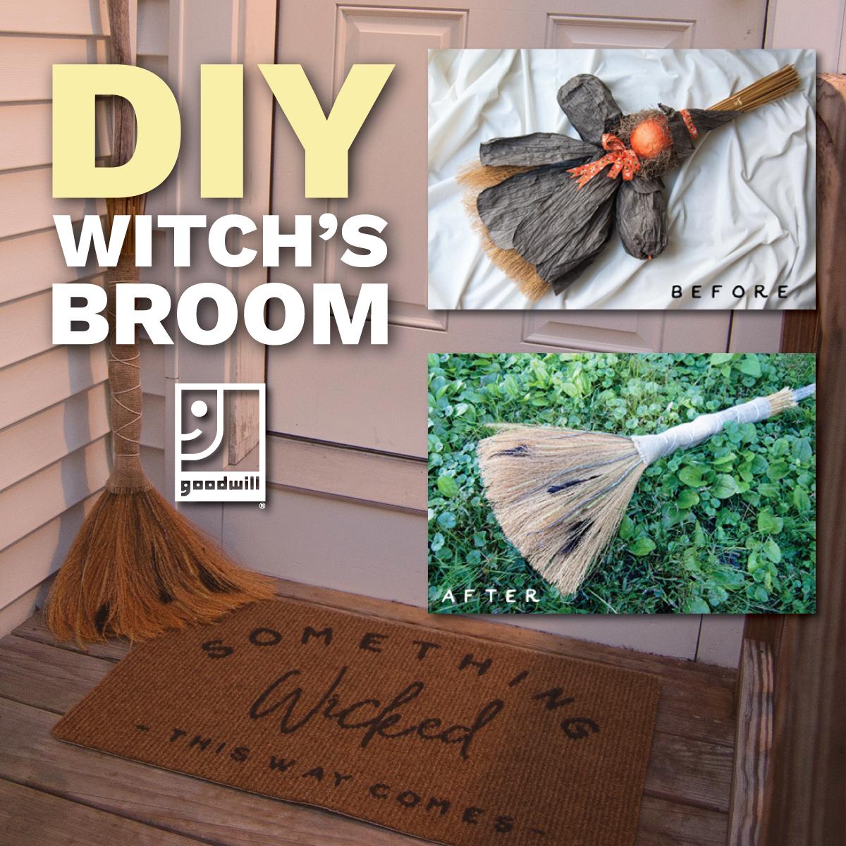 Halloween DIY: Sanderson-Inspired Witch's Broom
