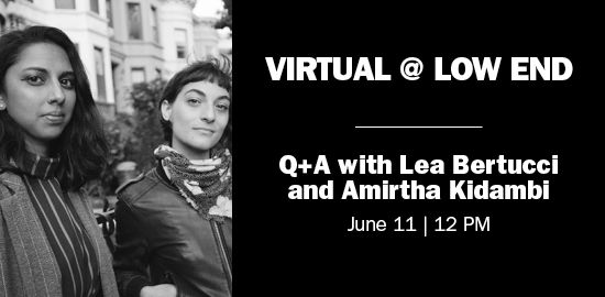 Sound Artists Lea Bertucci and Amirtha Kidambi Question and Answer Event