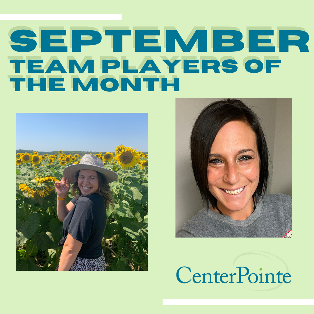 September Team Players of the Month