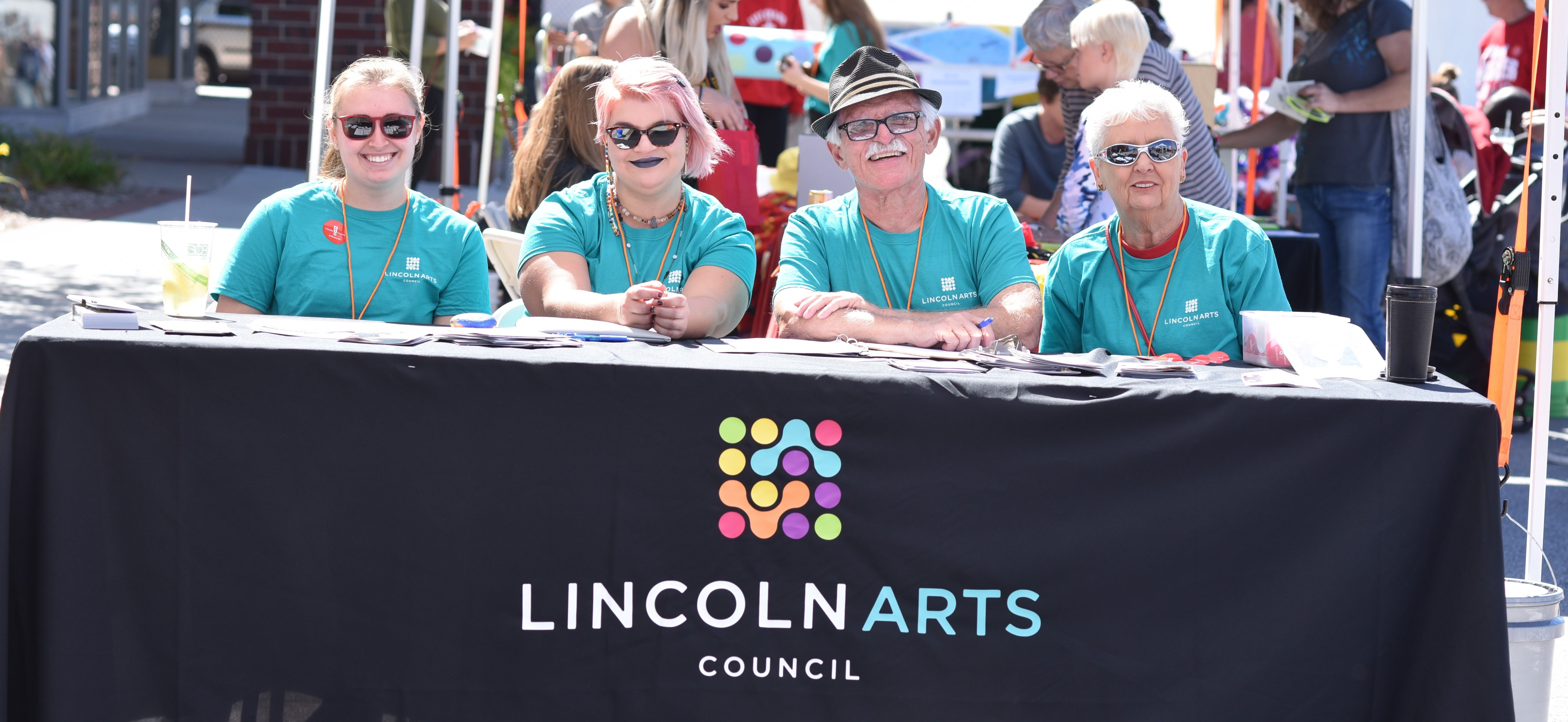 Join us as a Lincoln Arts Festival Volunteer!