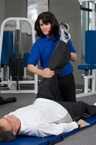 photo of an open fitness instruction book