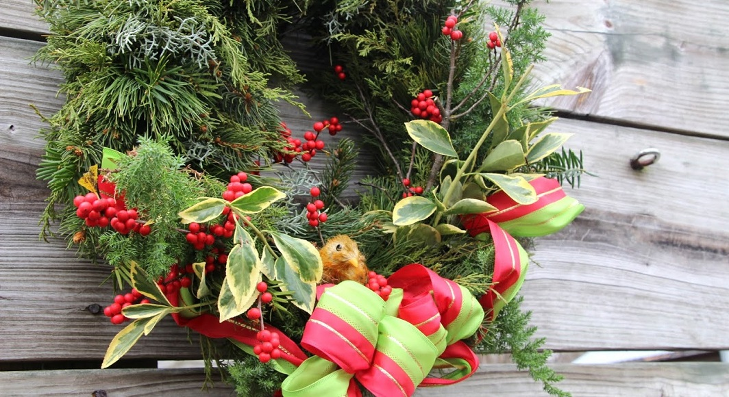 Join us December 2 for the Holiday Open House & Wreath Sale!