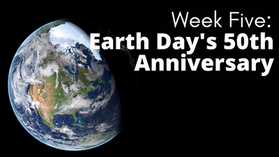 Audubon at Home Week Five: Earth Day's 50th Anniversary