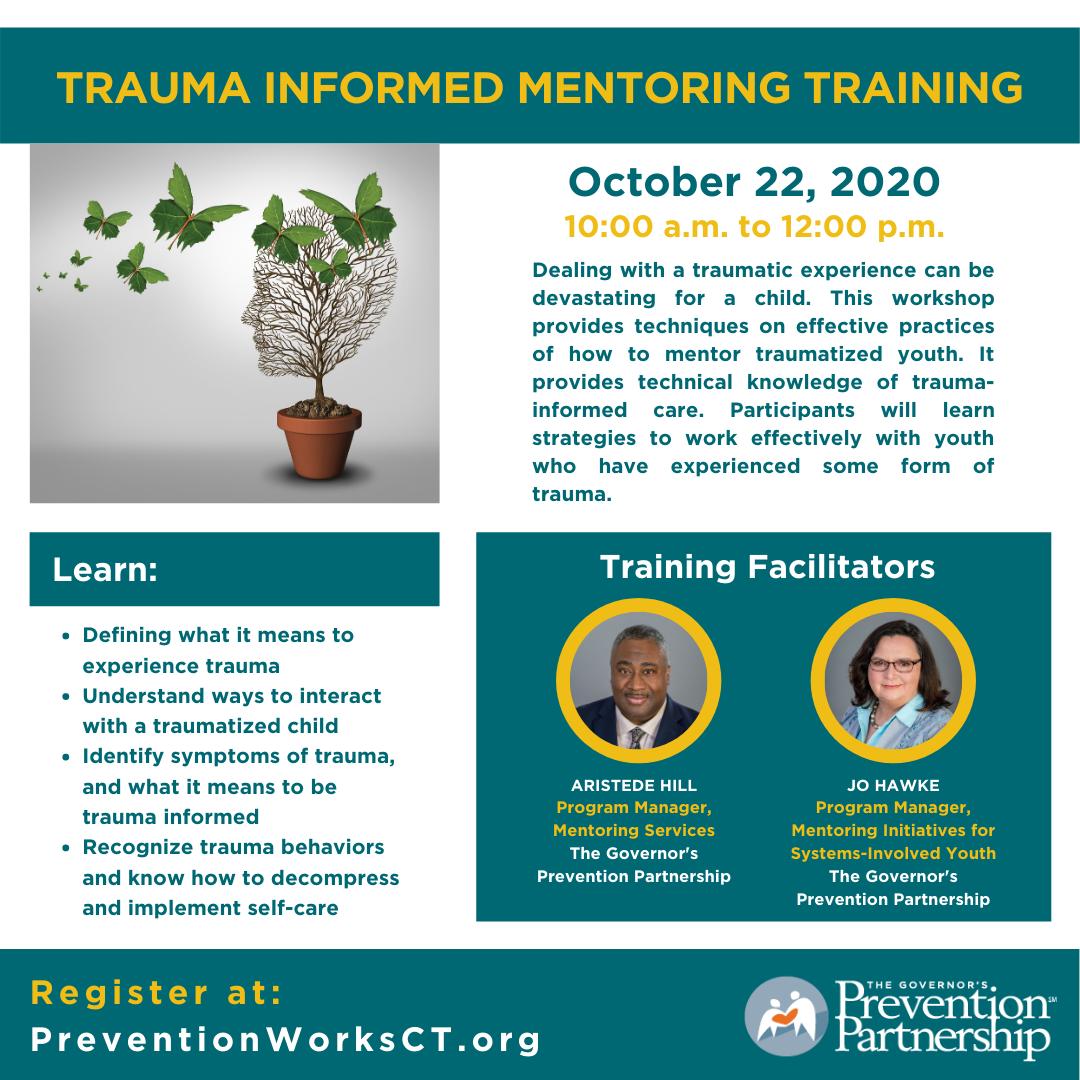 Trauma Informed Mentoring Training