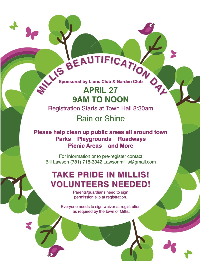 Millis Beautification Day