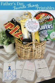 Father's Day Favorites Basket