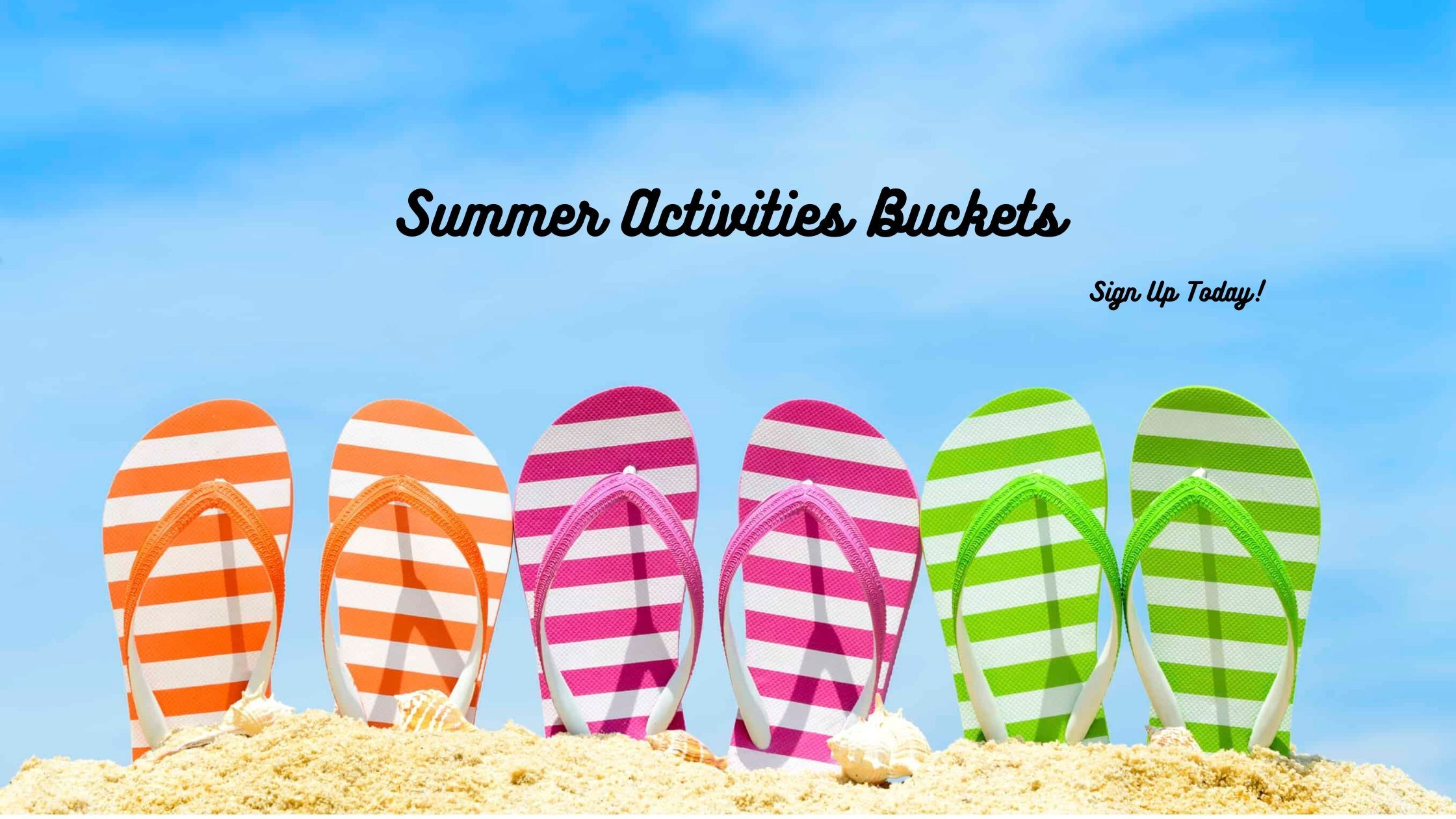 Summer Activities Buckets