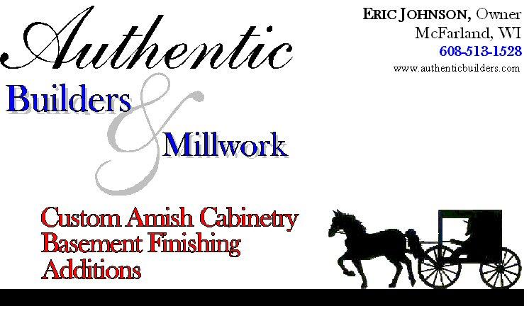 Authentic Builders & Millwork