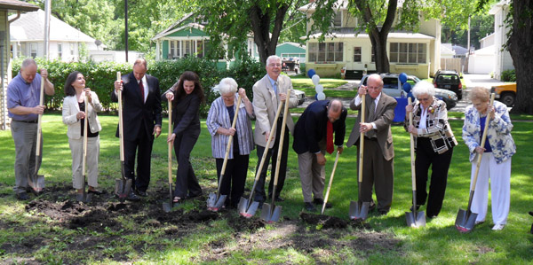 Lutheran Social Services Luther Hall breaks ground today in Fargo