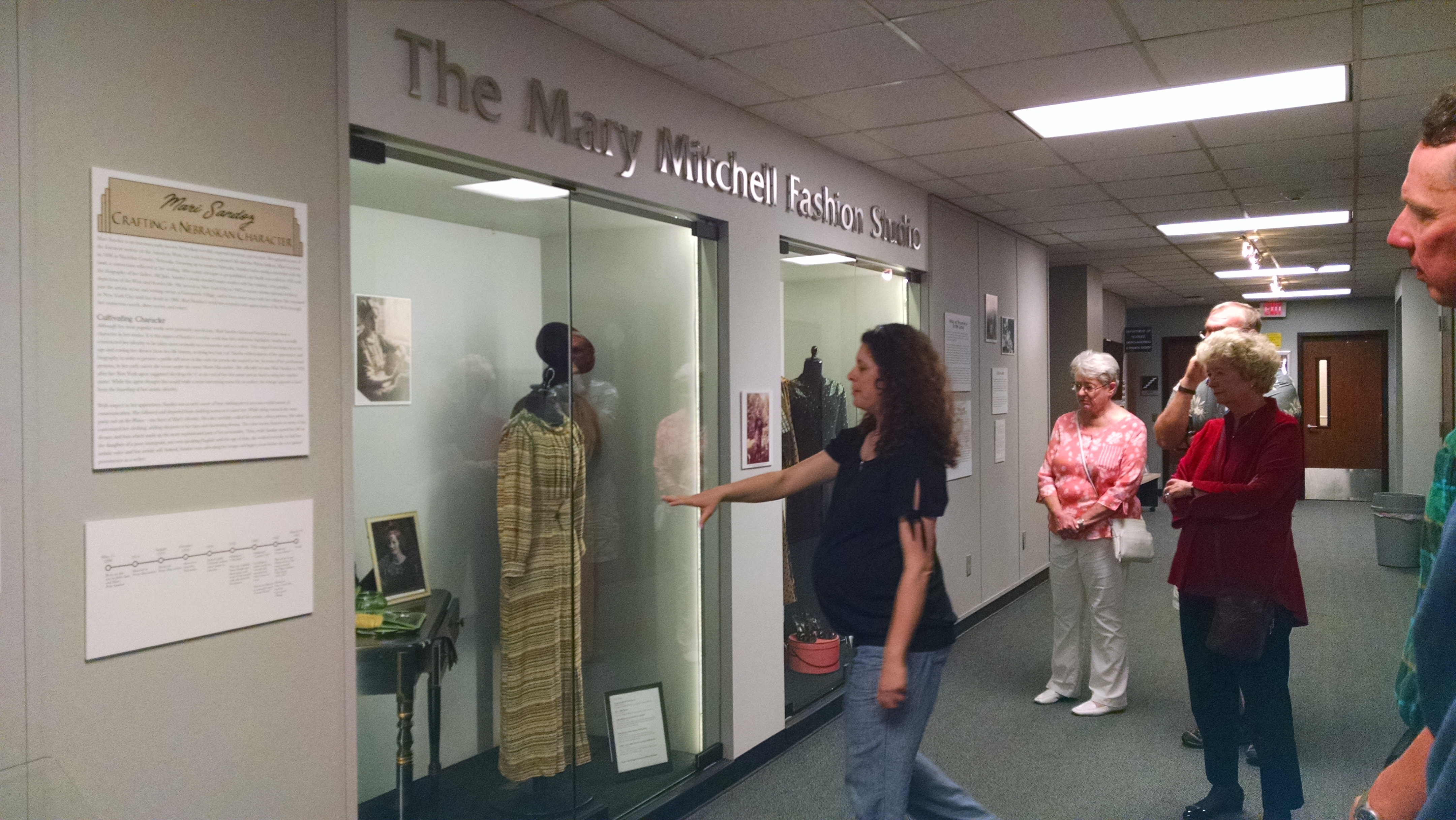 Sandoz Scholar Exhibit on East Campus