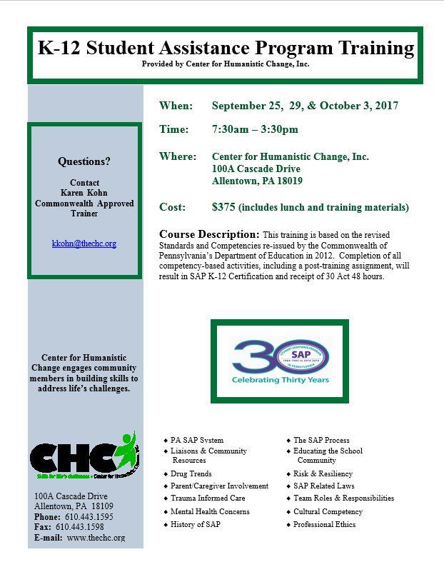 Center For Humanistic Change Event Calendar Event Calendar