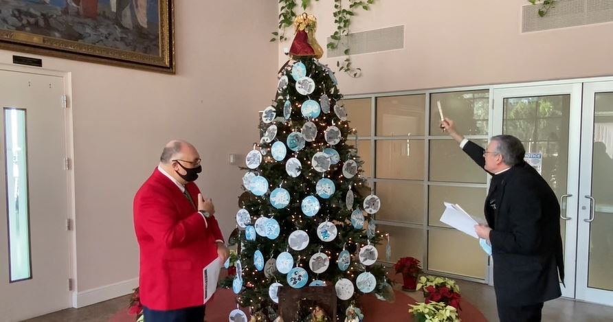 St. Clare chosen for re-imagined Pastoral Center tree trimming