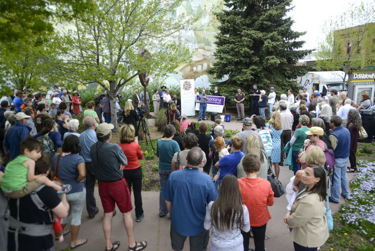 Message of love, respect highlight Bozeman anti-hate rally