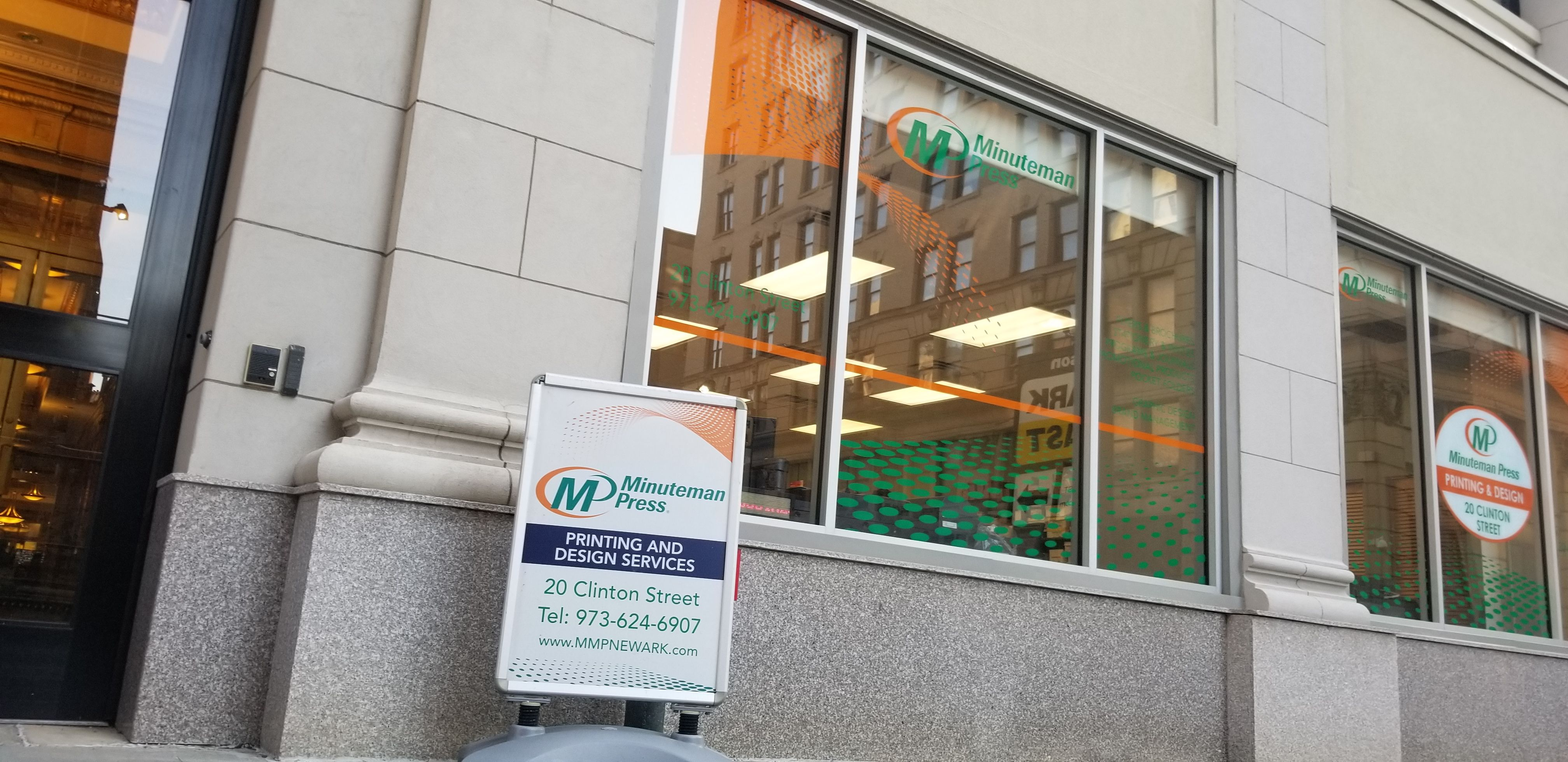 Announcing the New Owner of Minuteman Press Newark