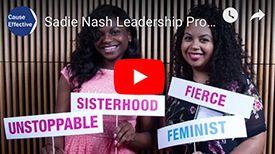 Sadie Nash Leadership Project