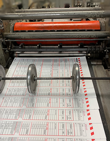 Snap out forms on press
