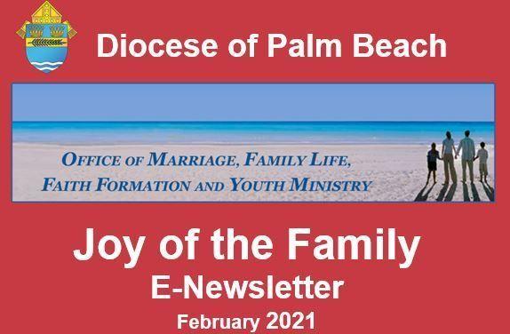 Joy of the Family e-Newsletter - February