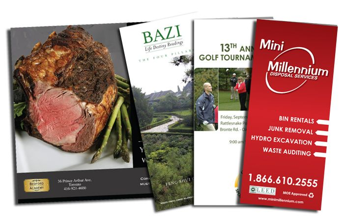 Image showing 3 brochures