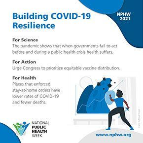NPHW - Constructing COVID-19 Resiliency
