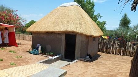 The Blessing of the Memorial Hut of the Late Archbishop Bonifatius Haushiku