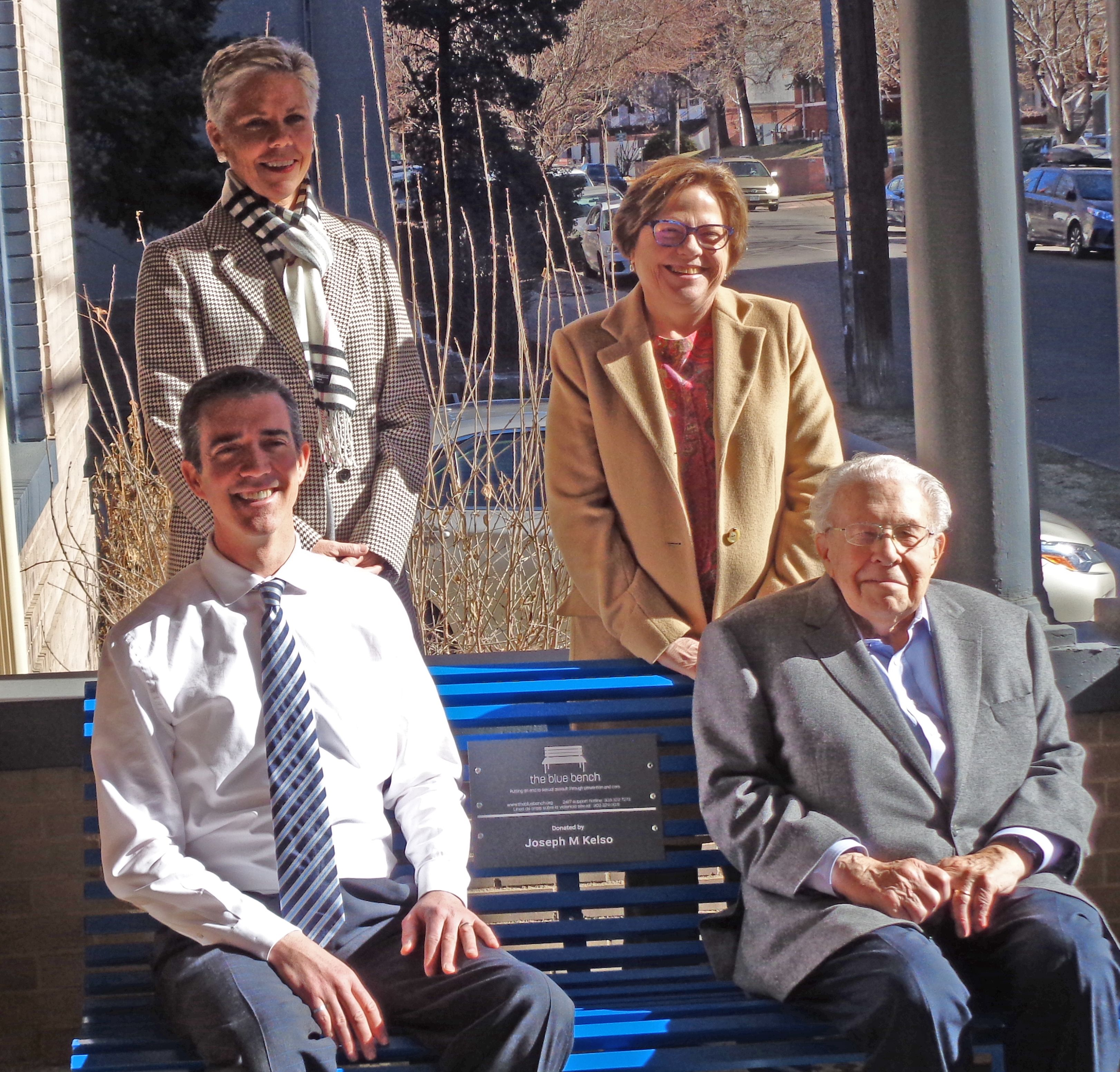 WARREN VILLAGE BECOMES THE NEWEST HOME OF A BLUE BENCH