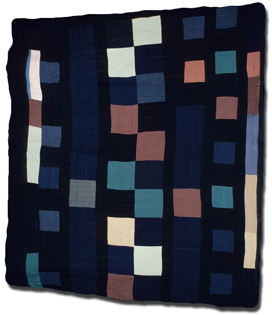 One Patch, Made by Cora Gregory James, Made in Nebraska, United States, Circa 1935, 83 x 70 in, IQSC 2006.043.0128