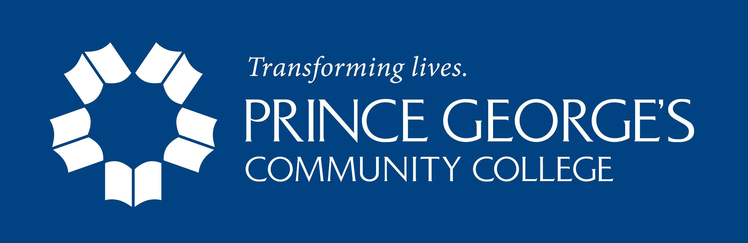 Transforming lives. Prince George's Community College