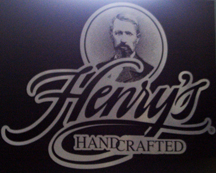 Henry Weinhards Dimensional Lettering