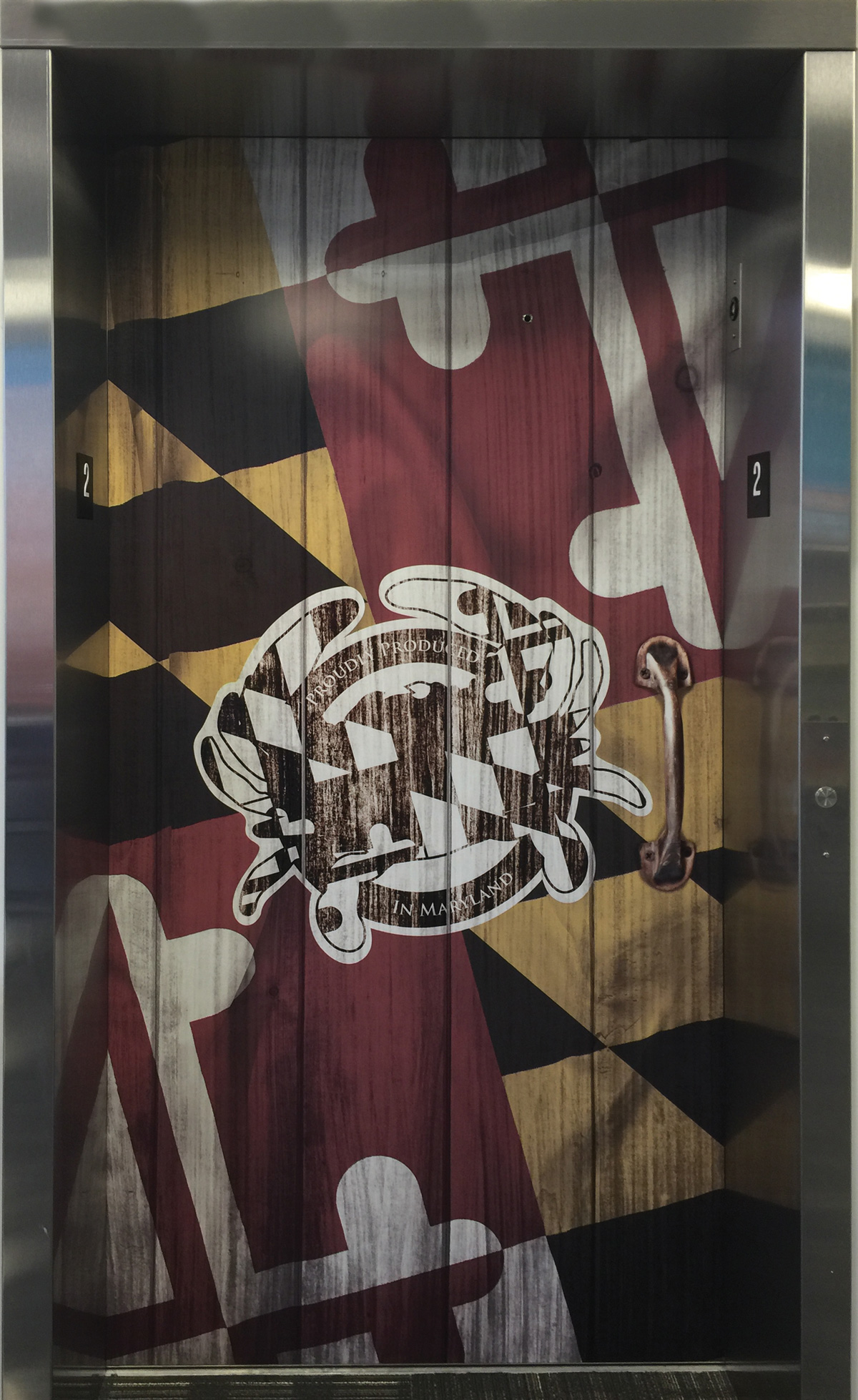 Elevator Wraps by Master Signs powered by Strategic Factory in Owings Mills, Maryland