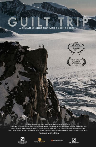 Red Barn Event: Guilt Trip, a climate change film with a skiing problem
