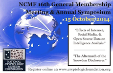 2014 NCMF 16th Membership Meeting & Symposium