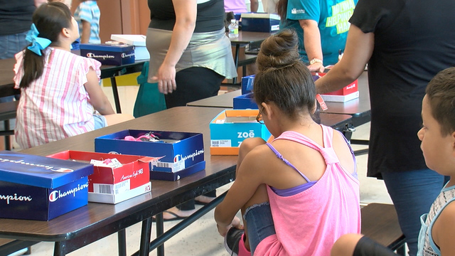 ABC 4 News: Student In Need Kick-off School Year