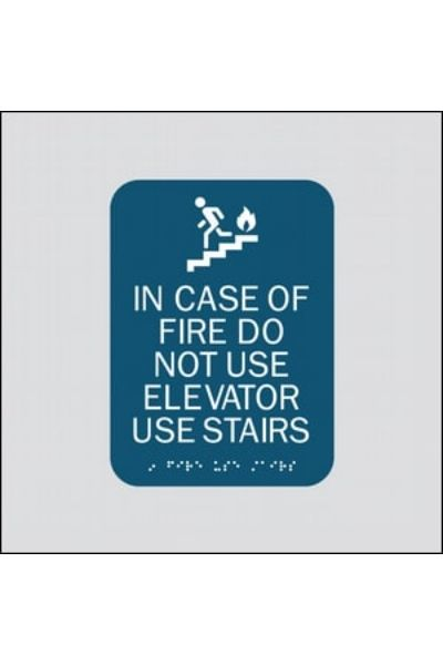 Fire/Stairs (In Case of Fire Use Stairs)