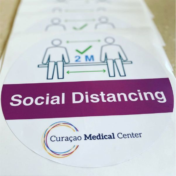 Social Distancing Sticker2