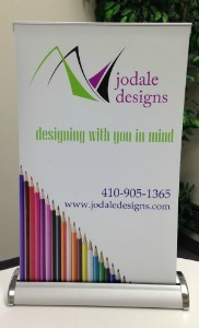 Tabletop Pull-Up Banner