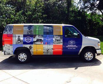 Van Full Wrap