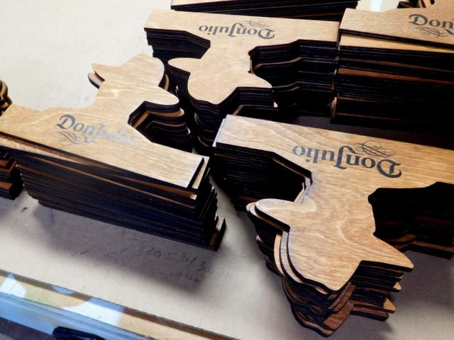 SB28816 - Carved Small Indoor Alder Wood Signs made for Don Juan Tequila, Laser Engraved