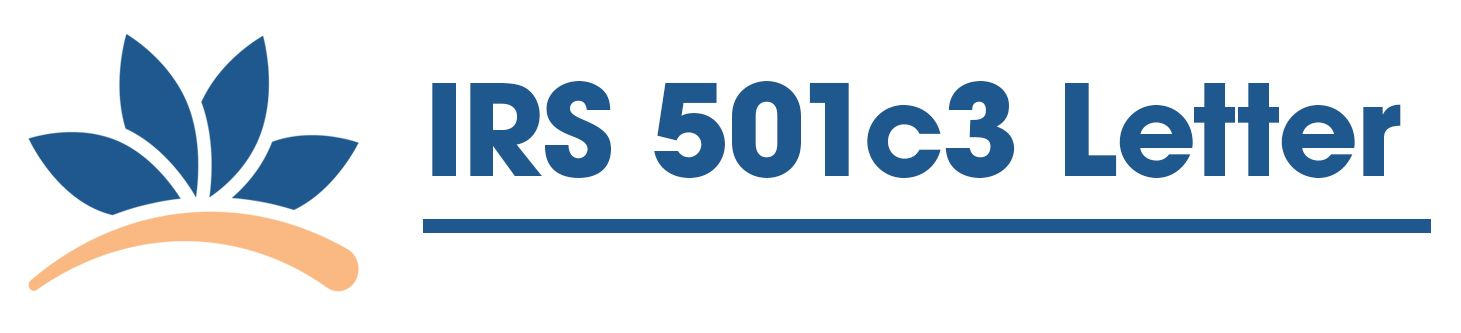 501c3 Letter
