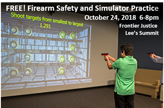 FREE Firearm Safety and Simulator Practice