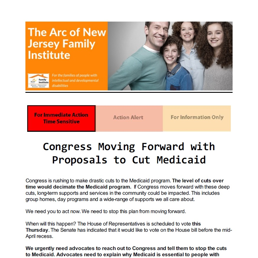 Protect the Lifeline: Call Congress NOW to Stop Medicaid Cuts 3.21.2017