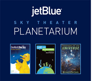 The Cradle of Aviation Museum Announces the Opening of the new State-of-the-Art JetBlue Sky Theater Planetarium