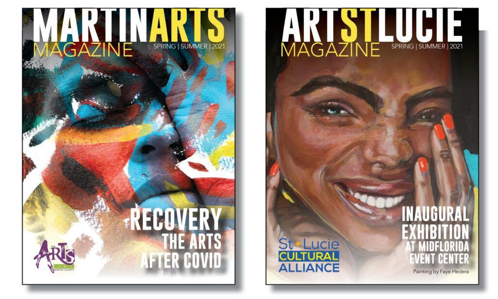 Arts Council of Martin County & St. Lucie Cultural Alliance Partner in New Magazine