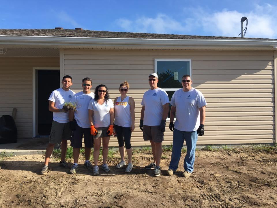 Leadership Hernando Class of 2016 Team Build - Thomas House