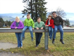 IFYE with host Family in Switzerland